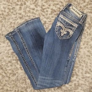 """Women's Rock Revival Jeans sz 26 Boot Cut """"Pilkin"""""""